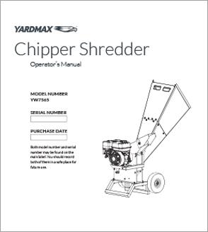 YW7565 - Chipper Shredder
