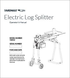 YS0552 - Electric Log Splitter