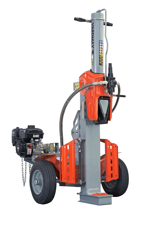 Yardmax Gas Powered Log Splitter Half Beam 25 Ton