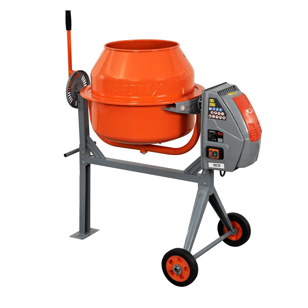 4.0 cu ft Concrete Mixer Product Photo