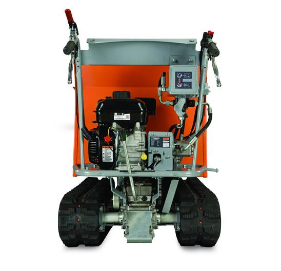 Power Trackbarrow w/ Hydraulic Assist