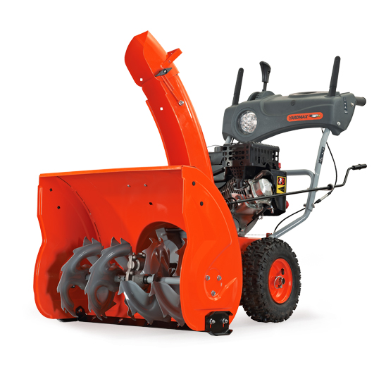 Snow Blowers Product : Yardmax stage in snowblower with dashboard and