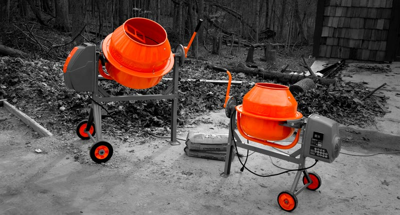 yardmax concrete mixers in total landscape care magazine yardmax