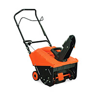 menu_Snow Thrower Single Stage