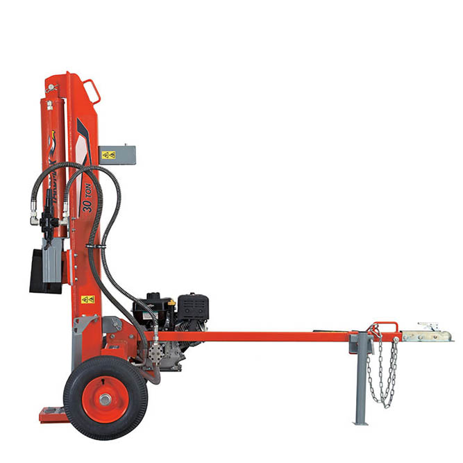 Gas Powered Log Splitter – Full Beam
