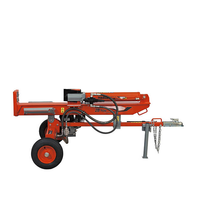 Gas Powered Log Splitter – Full Beam