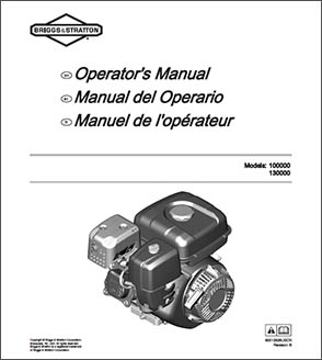 CR950 Briggs & Stratton Engine Manual