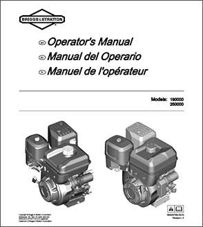 XR1450 Briggs & Stratton Engine Manual