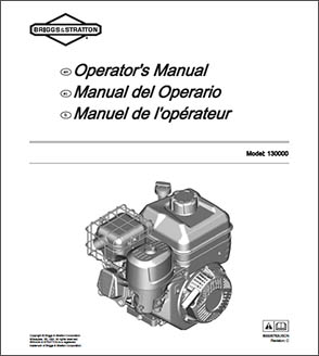 XR950 Briggs & Stratton Engine Manual