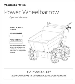 YD4103 - Power Wheelbarrow