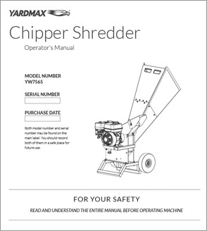 YW7565 - Chipper Shredder