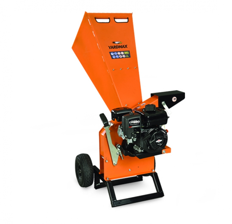 2 Stage Snowblower >> Yardmax Chipper Shredder